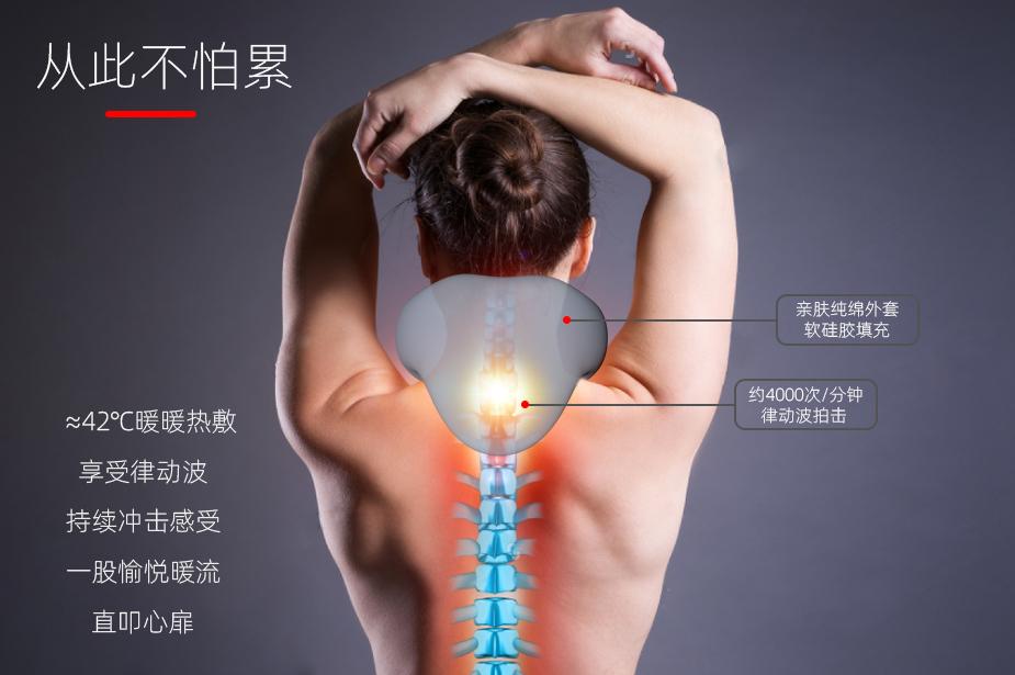 简单介绍按摩仪对人体的七大好处
